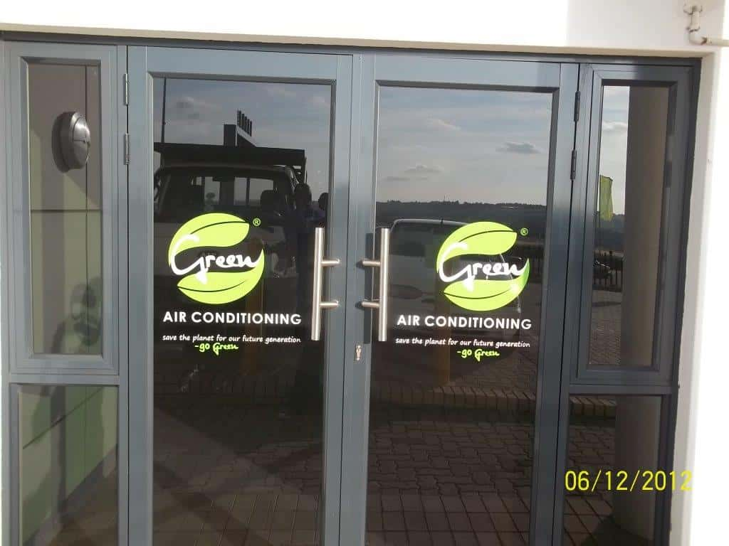 Qps signage and printing for Vinyl windows company