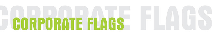 coporate flags