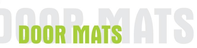 door mats header