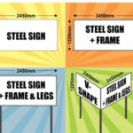 Chromadec & Steel Signs