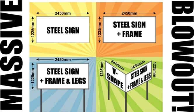Chromadec & Steel Signs