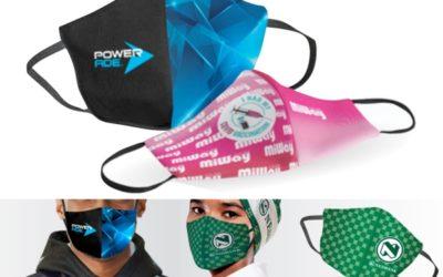 3 Layer Branded Face Masks